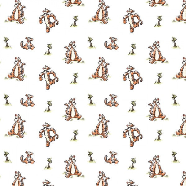 Disney's Bouncy Tigger Fabric to sew - QuiltGirls®