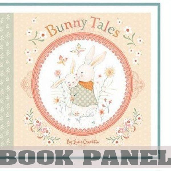 Bunny Tales Fabric Book Panel to Sew