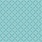 BLU Folk Art Fantasy Blue Fabric to sew - QuiltGirls®