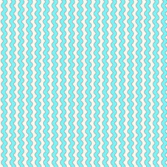 BLU Quilted Cottage Ric Rac Stripe Turquoise Fabric to sew - QuiltGirls®