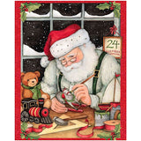 Christmas Eve Santa Quilt Panel to Sew - QuiltGirls®