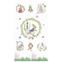 Peter Rabbit Digital Panel to sew - QuiltGirls®