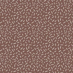 BRN Gingerbread Sprinkles Brown Fabric to sew - QuiltGirls®