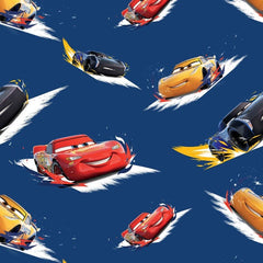 Disney Cars Toss Fabric to sew - QuiltGirls®