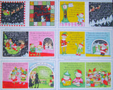 One Crazy Christmas Eve Fabric Book Panel to Sew - QuiltGirls®