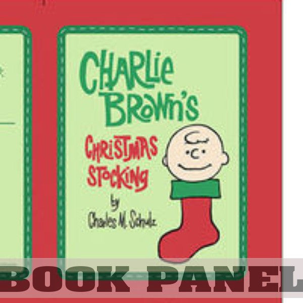 Charlie Brown's Christmas Stocking Fabric Book Panel to Sew