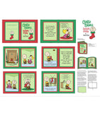 Charlie Brown's Christmas Stocking Fabric Book Panel to Sew - QuiltGirls®
