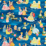 Vintage Storybook Cinderella's Tale Fabric to Sew - QuiltGirls®