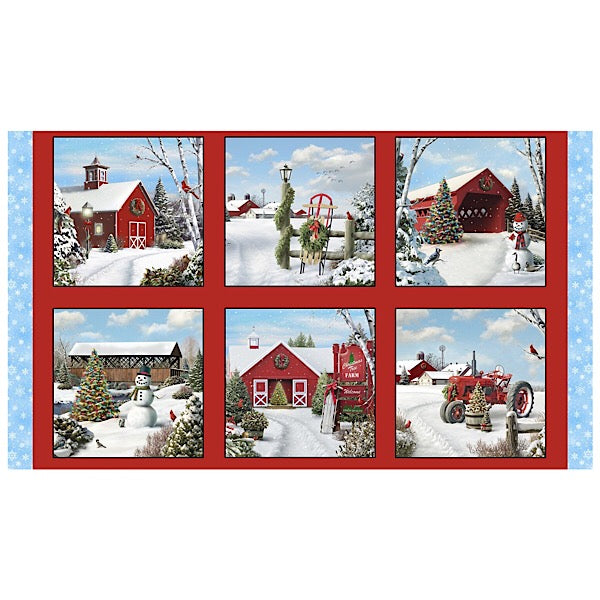 Tis' The Season Quilt Panel to sew - QuiltGirls®