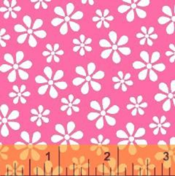 PNK Windham Basics Pink Floral Fabric to sew