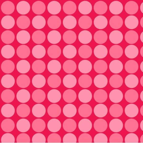 RED Sunshine Day Red Dots Fabric to sew