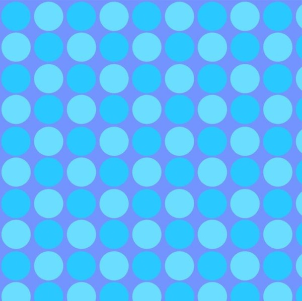 BLU Sunshine Day Blue Dots Fabric to sew