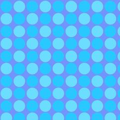 BLU Sunshine Day Blue Dots Fabric to sew - QuiltGirls®