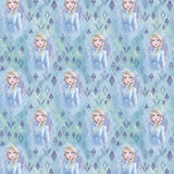 "(Remnant 18"") Frozen Elsa in Crystals Fabric to Sew - QuiltGirls®"