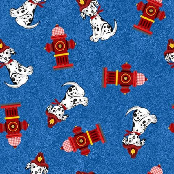 Everyday Hero Dalmatian Toss Fabric to sew