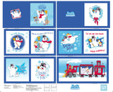 Everyone's Favorite Snowman Fabric Book Panel to Sew - QuiltGirls®