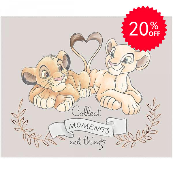 Disney Simba and Nala Quilt Panel to sew - QuiltGirls®