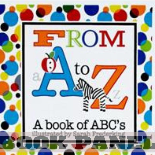 Fun with ABCs Fabric Book Panel to Sew