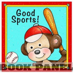 Good Sports Fabric Book Panel to Sew - QuiltGirls®