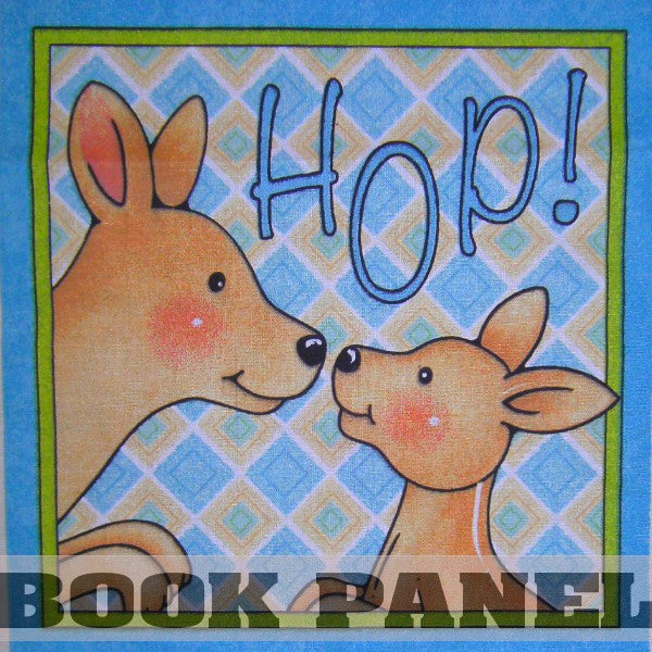 Hop Fabric Book Panel to Sew - QuiltGirls®