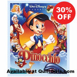Disney Pinocchio Quilt Panel to sew - QuiltGirls®