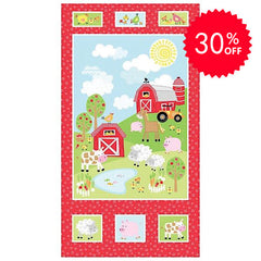 Happy Farm Quilt Panel to sew - QuiltGirls®
