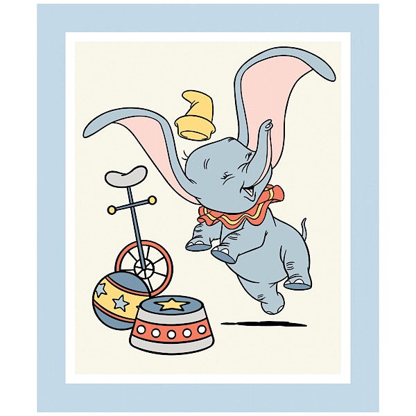 Disney Dumbo Quilt Panel to sew