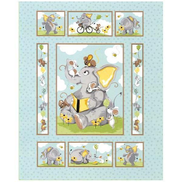 Susybee's Knightley Quilt Panel to sew