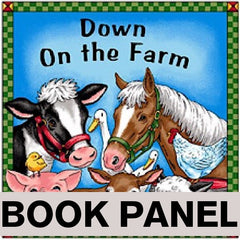 Down on the Farm Fabric Book Panel to sew - QuiltGirls®