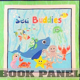 Sea Buddies Fabric Book Panel to Sew - QuiltGirls®