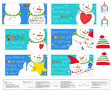 I Love You Snow Much Fabric Book Panel to Sew - QuiltGirls®