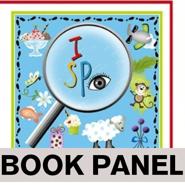 I Spy Fabric Book Panel to Sew - QuiltGirls®
