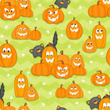 A Haunting We Will Glow Pumpkin Fabric to sew - QuiltGirls®
