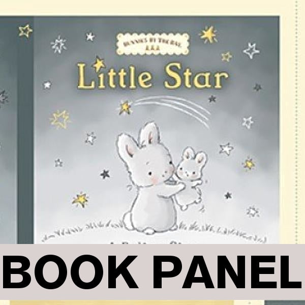 Little Star Fabric Book Panel to Sew