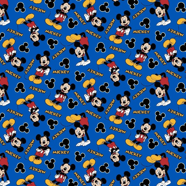 "(Remnant 18"") Mickey 1928 Fabric to sew"