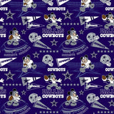 NFL Disney Mickey Dallas Cowboys Fabric to sew - QuiltGirls®