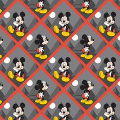 "(Remnant 18"") Mickey Tiles Fabric to sew - QuiltGirls®"