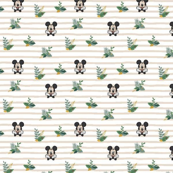 Mickey Traditional Stripe Fabric to sew