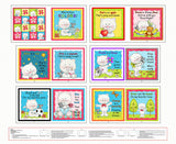 Miss Kitty's Colors Fabric Book Panel to sew - QuiltGirls®