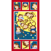 Monkey Business Fabric Panel to Sew - QuiltGirls®