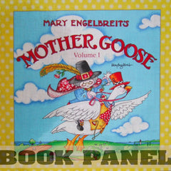 Mother Goose Vol 1 Fabric Book Panel to sew - QuiltGirls®
