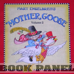 Mother Goose Vol 2 Fabric Book Panel to sew - QuiltGirls®