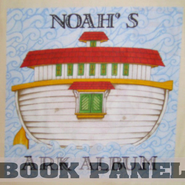 Noah's Ark Album Fabric Book Panel to Sew