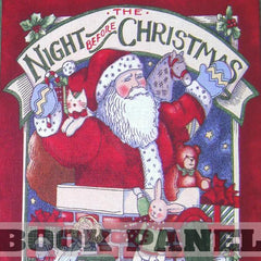 The Night Before Christmas Fabric Book Panel to Sew - QuiltGirls®
