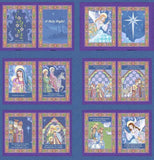O Holy Night Fabric Book Panel to Sew - QuiltGirls®