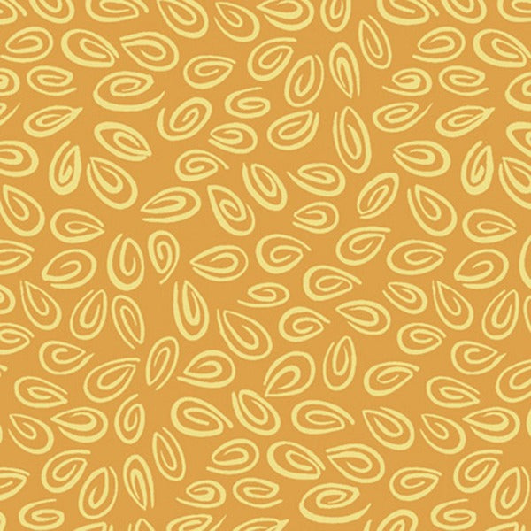 ORNG Susybee's Orange Swirl Fabric to sew - QuiltGirls®
