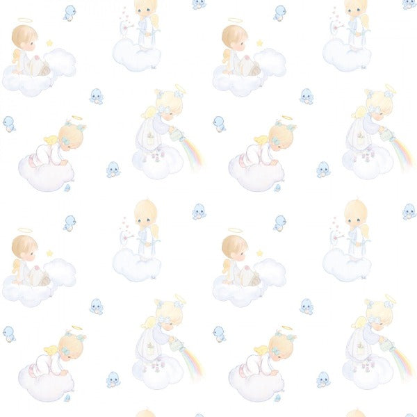 Precious Moments Angel Scenic Fabric to sew