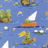 Susybee's Paul and Sheldon Paddling Allover Fabric to sew - QuiltGirls®
