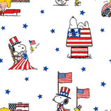 Patriotic Peanuts Fabric to sew - QuiltGirls®
