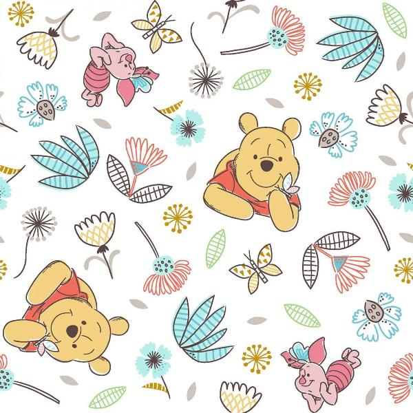 Pooh and Piglet Fabric to sew